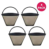 Crucial Coffee Cone Filter Part for Coffee Filter No. 4 - Compatible
