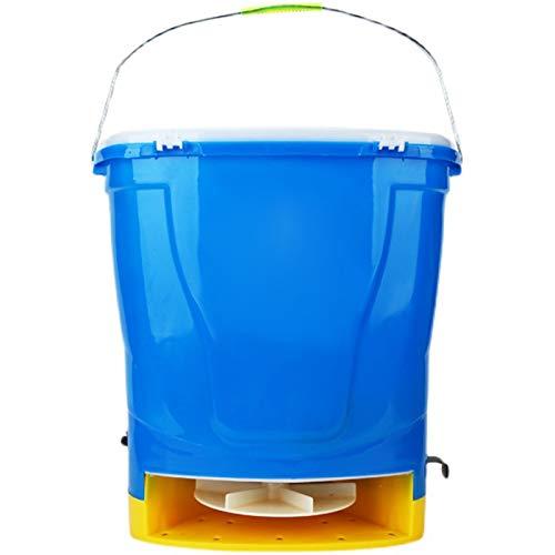 BJYX Esparcidor Eléctrico con Batería de Litio 25 litros de Gran Capacidad para Tierras de Cultivo Arrozales Huertos Criaderos Estanques de Peces Césped Huertos
