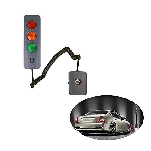 HJJH Garage Parkplatz Sensor - Parken-Zeichen LED-Licht, Parkplatz Alarm Sensor Kreative Intelligent Entfernung Stop-Aid-Parken-Sensor Auto-Zubehör (ohne Batterie)