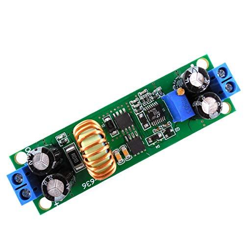 HW636 Convertidor de Voltaje 60V 48V 36V 24V a 19V 12V 9V 5V 3V Fuente de alimentación Reductora Ajustable Buck Estabilizador Regulador Módulo Verde