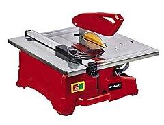 Einhell tegel snijmachine TC-TC 800 (800 W, 2.950 min-1, kantelbare roestvrijstalen tafel met hoekschaal, verstelbare hoekstop, parallelle stop met schaal, incl. diamantslijmdia. 180)*