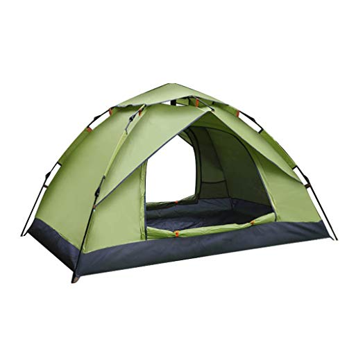 WGYDREAM Automatic Tent Pop Up Instant Tent Outdoor Camping 2 Person Portable Backpacking Tent Waterproof Anti-UV Tents for Hiking Mountaineering (Color : D)