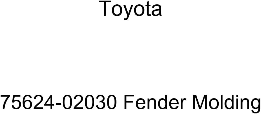 TOYOTA Genuine 75624-02030 lowest price New products, world's highest quality popular! Molding Fender