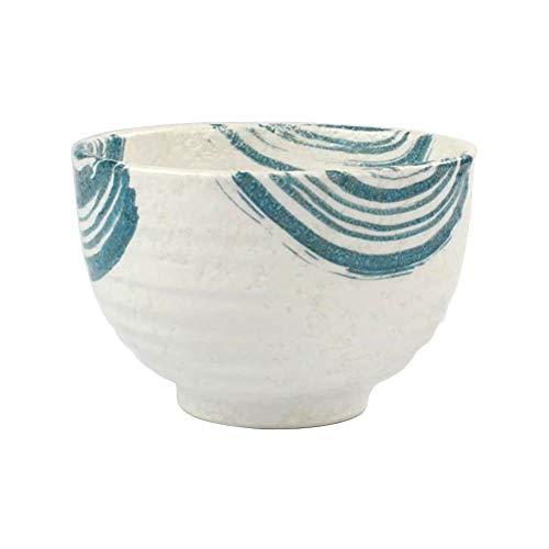 display08 4,5 Zoll Japanische Keramik Küchensuppe Reis Abendessen Geschirr Pulver Aufbewahrungsschale Reisschale Geschirr