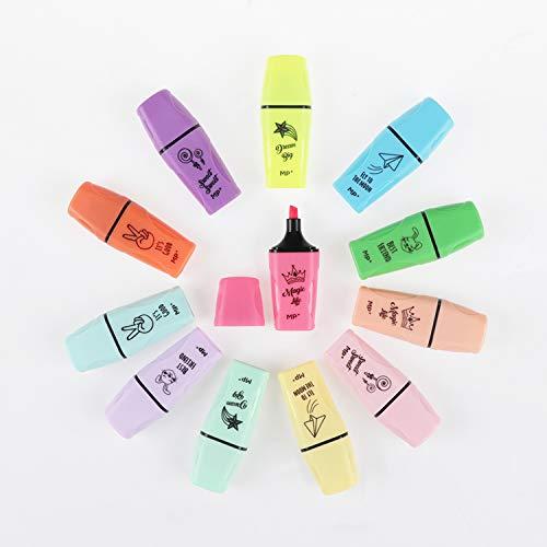potente para casa MP – Marcas en miniatura fluorescentes y de color pastel, muelles de doble tira biselados – Carcasa…