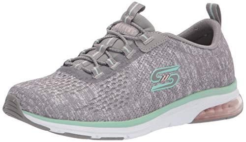 Skechers Damen 104057-GYMN_40 Sneakers, Grey, EU