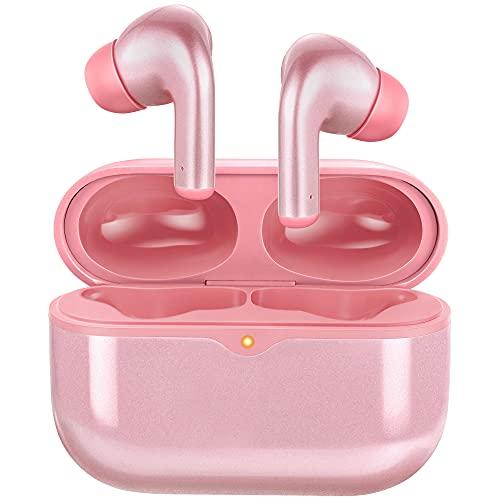 ORYTO Bluetooth Kopfhörer in Ear 5.1,Kabellose Kopfhörer 46 std mit Wireless Ladekoffer,IPX7 wasserdichte Sportkopfhörer mit AI Noise Cancelling HiFi Stereo So& HD Mikrofon,für iPhone/Samsung/Huawei