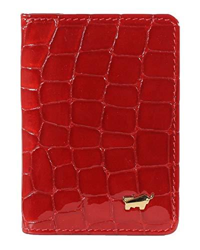 Braun Büffel Verona Card Holder Red