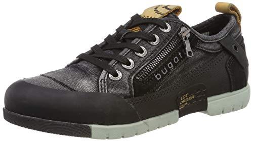 bugatti Herren 322656026900 Sneaker, Schwarz, 44 EU