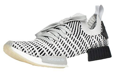 Adidas Originals NMD-R1 Hombre Zapatillas Deportivas Correr Gris/Blanco/Negro 42.5