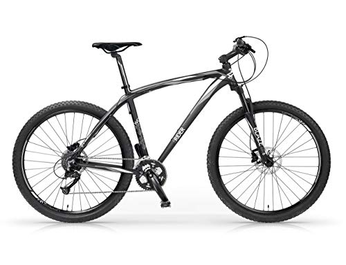 MBM Twuentyseven.Five, Bicicletta Ibrida Unisex Bambini, Bianco A28, 48