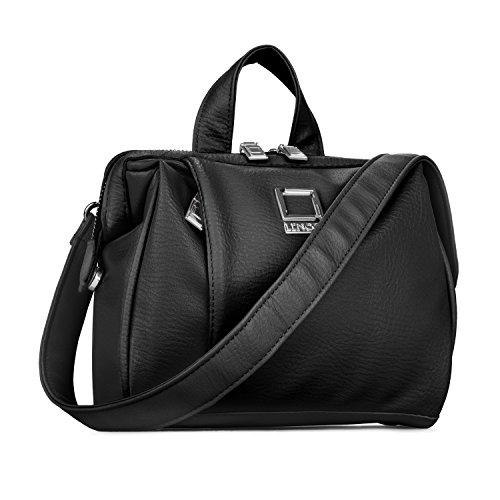 Crossbody Shoulder Bag Fits Canon SLR DSLR EOS Rebel/Powershot/Camcorder/Lens Accessories Case