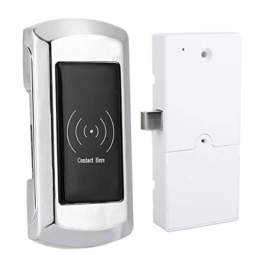Cerradura electrónica, aleación de zinc con tarjeta de acceso, alarma de bajo voltaje, cerradura electrónica para armario, caja fuerte inteligente para taquillas de sauna, taquillas de