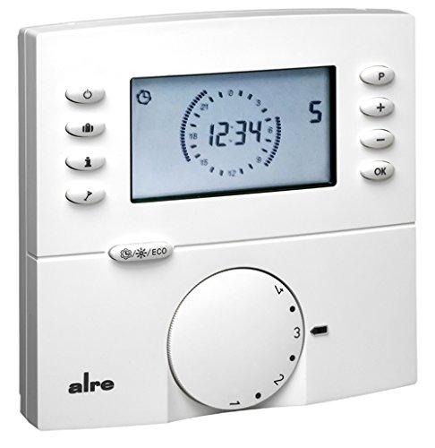 Raumtemperaturregler AP m.Display,o.Beleucht HTRRBu110.117/21