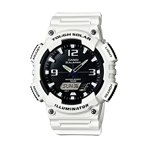 Casio Reloj para Hombres de Cuarzo con Correa en Resina AQ-S810WC-7AVCF
