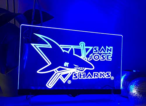 San Jose Sharks Leuchtschild LED Neu Schild NHL USA Neon/neonschild