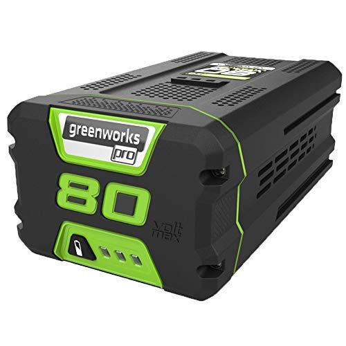 Greenworks Lithium-Ionen Akku Pro 80 V 4 Ah mit Schnellladefunktion Ersatzsakku