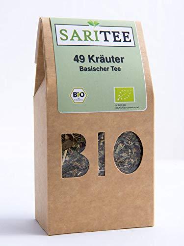SariTee - BIO - Basischer Tee, 49 Kräuter
