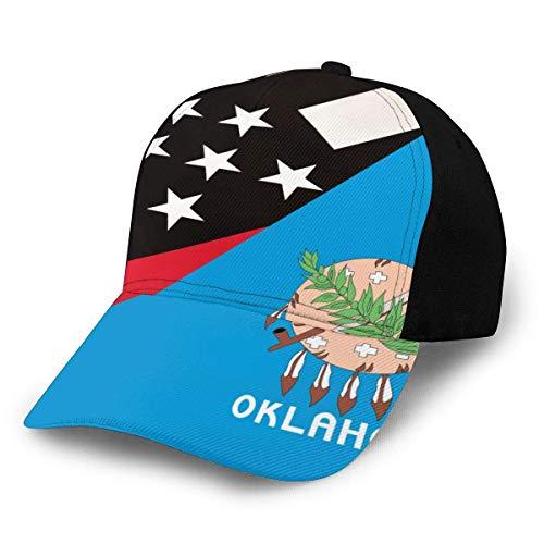 NR Oklahoma - Gorra béisbol Bandera línea roja Fina