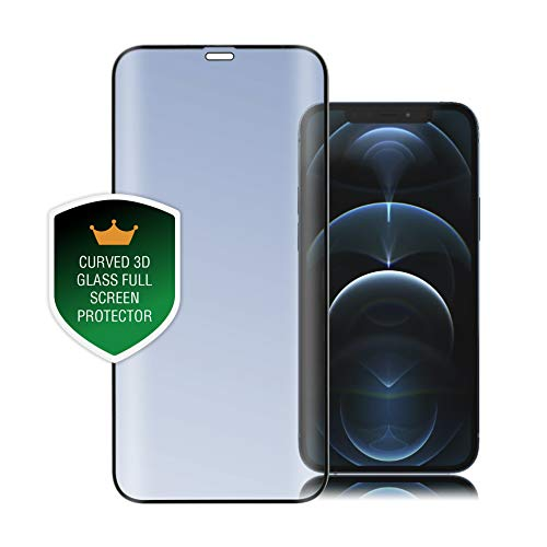 4smarts Second Glass Curved 3D Schutzfolie Kompatibel mit iPhone 12 mini - Schwarz