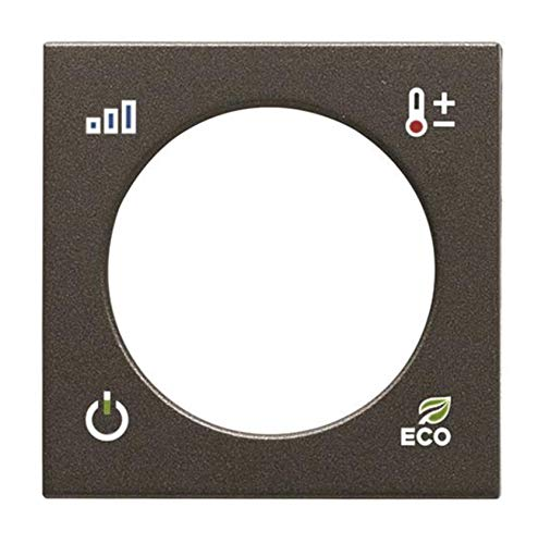 Niessen Zenit–ZENIT Deckel Thermostat KNX anthrazit