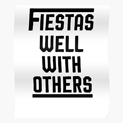 Fiesta del día de las niñas de las vacaciones México Mayo Tops Muscle Cinco Women Well With De Fiestas Fiesta Mujeres Fin de Semana Otros Decoración del Hogar Arte de la Pared Póster