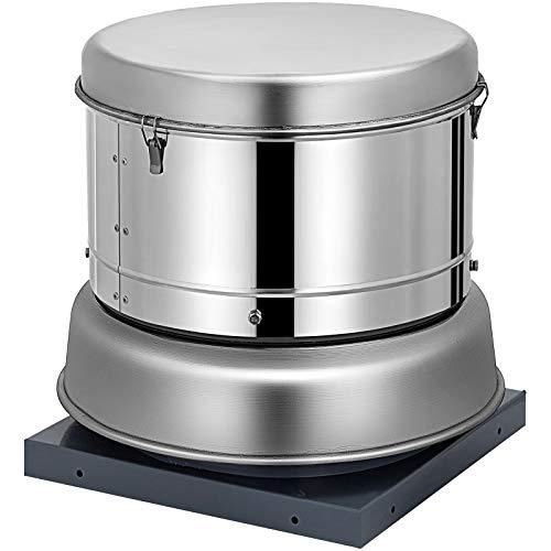 OrangeA 2400 CFM Roof Fan Up-blast Restaurant Exhaust Fan High Speed Direct Drive Up-blast Exhaust Fan 250W