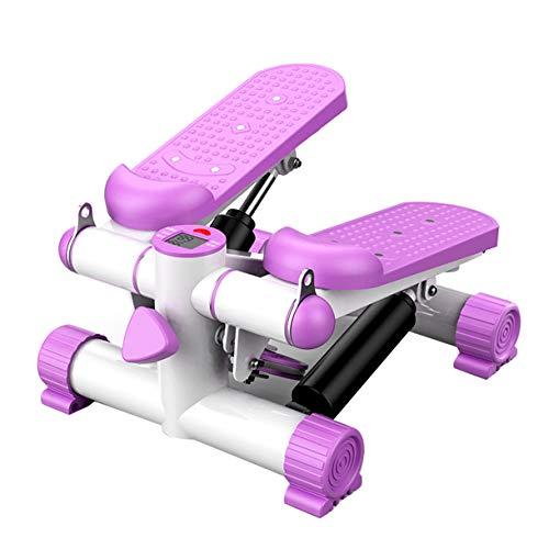 TATANE Home Hydraulic Cross Trainer, Bergsteigerpedalmaschine Stepper Beintrainingsausrüstung Shiatsu Massage Fitnesstrainer Stumm Unisex Maximale Belastung 130 kg