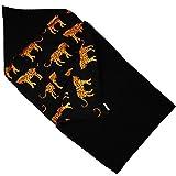 Ukje-Chancelière Nid d'Ange Universelle Pour Poussette et Siège Auto, Sac de Couchage Bébé (Bébé Confort, Maxi-Cosi, Poussette Canne.) Coton Oeko-Tex Certifié Noir Tigre