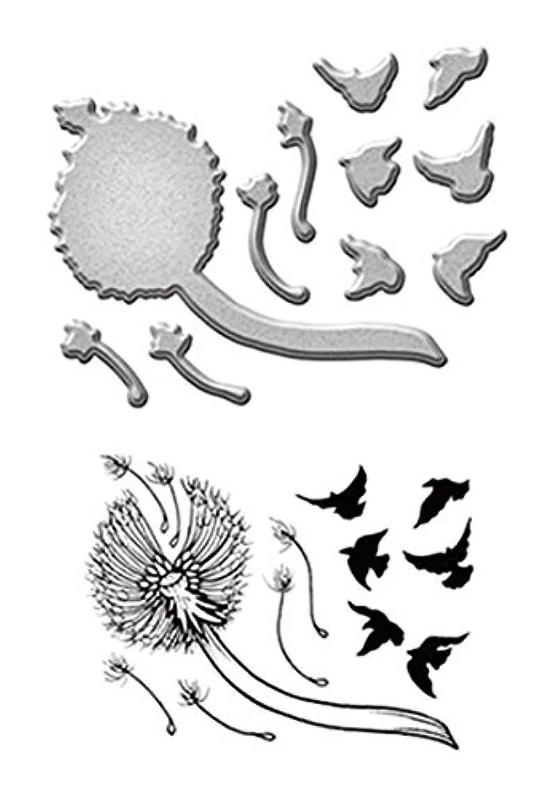 Spellbinders Dandelion Stamp & Die Set
