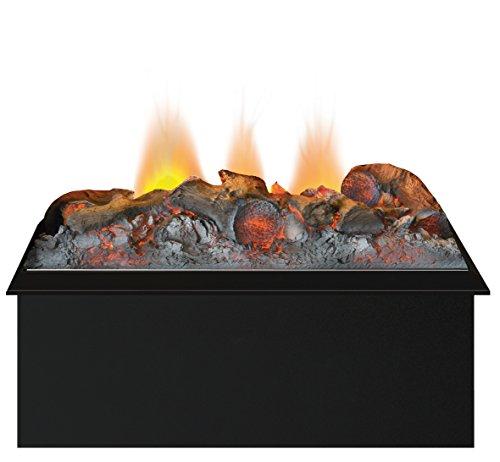 Dimplex Cassette 400 Built-in fireplace Eléctrico Negro Interior – Chimenea (230 V, 50 Hz, 200 W, 200 W, 200 W, 405 mm)
