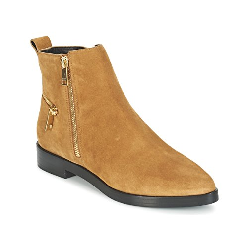 Kenzo Totem Flat Boots Stiefelletten/Boots Damen Camel - 36 - Boots Shoes