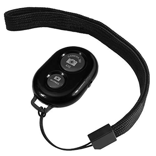 Alfort Draadloze Bluetooth Camera Afsluiter Afstandsbediening voor Smartphones Compatibel met Alle iOS- en Android-apparaten Inclusief Polsband, Geweldig voor Reizen Selfie of Familie Portret