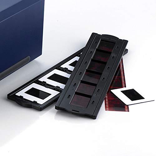 Plustek z-0037 (27-A11-0104A110) - Porta-diapositivas y soporte de películas positivas para escáneres de películas OpticFilm 7200, 7200i(SE), 7300 y 7500i(Ai/SE)