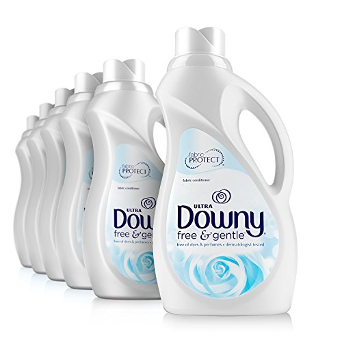 Downy Ultra Free & Gentle Liquid Fabric Conditioner (Fabric Softener),...