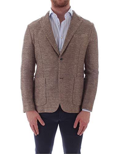 Circolo 1901 Luxury Fashion Mens CN2243BROWN Brown Blazer   Spring Summer 19