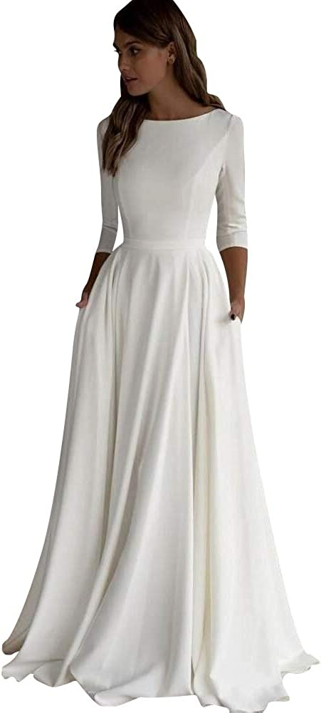 Modeldress Womens Lace Spaghetti Straps Mermaid Beach Wedding Dresses Boho Bridal Gowns Maxi