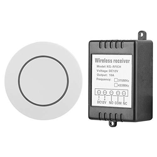 Interruptor remoto de 1 canal con autobloqueo Controlador Receptor Interruptor remoto que avanza lentamente 50 metros Distancia de control remoto Se puede utilizar como una exquisita