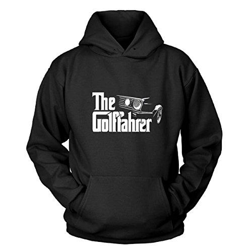 Shirtblaster The Golffahrer Kapuzenpullover Size M