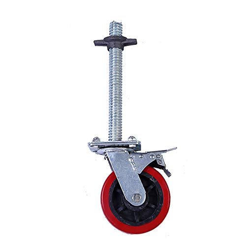 Ruedas - Servicio Pesado andamiaje de rotación, el Levantamiento Freno universales, 360 Grados de rotación Flexible de Soporte