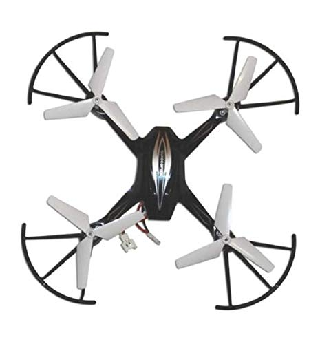 YOKRYO HX750 Drone 2.4 Ghz 6 Channel Remote Control Quadcopter/Unbreakable Blades/ Without Camera for Kids (Black- Colors May Vary).