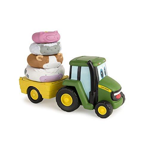 John Deere 46403 - Johnny Tractor apilamiento diversión, Multicolor