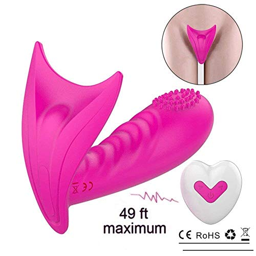 G-Spot Stimulator Remote Control Vibrate Masturbation Toys and Wearable Vibrator Clitoris for Adult,Invisible Wearable Vibrating Wand USB Rechargeable Silicone Clitoris Vagina Massager for Women