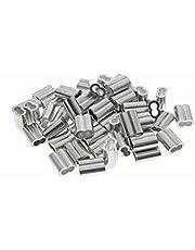 Kitchen-dream aluminium krimplus voor 2 mm draadkabel en kabel
