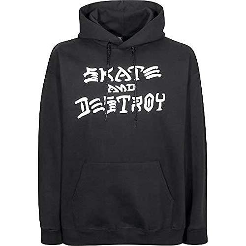 Thrasher Skate And Destroy Hood [Large] Black by Thrasher