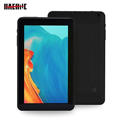 Haehne 9 Inch Tablet PC, Google Android 6.0 Quad Core 1.3GHz, 1GB RAM 16GB ROM, Dual Cameras, Bluetooth, WiFi, Black