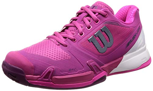 Wilson Women's Rush Pro 2.5 Very Berry/White/Pink Glow 6 B...