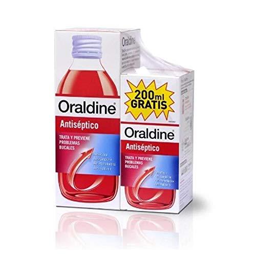 Oraldine Colutorio Antiséptico, 400 Mililitros + 200 MIlili