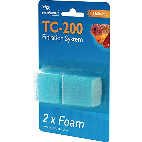Lote de 2 filtros de espuma (para TC200)