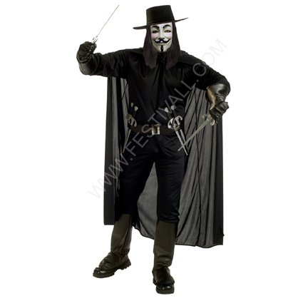 Festival Magia y Malabares Disfraz V for Vendetta (R155)